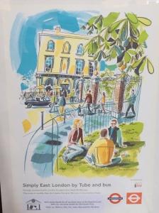 Royal Inn TfL poster